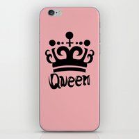 arya iPhone & iPod Skins featuring Queen Levy by Arya