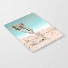 Vintage Desert Scape // Cactus Nature Summer Sun Landscape Photography Notebook
