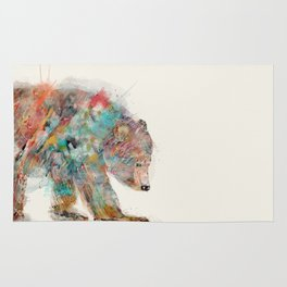 into the wild (the grizzly bear Rug