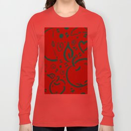 Apple for teacher Long Sleeve T-shirt