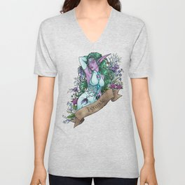 High Priestess Unisex V-Neck