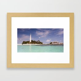 #belitung 02. Framed Art Print