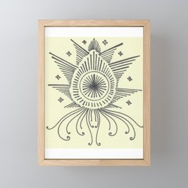 Angel Jellyfish #34 Framed Mini Art Print
