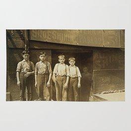 Ghost Of The Shoeshine Girl Rug