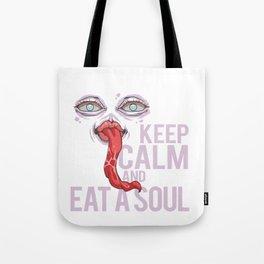Eat A Soul Halloween Villain Brain Eater Tote Bag