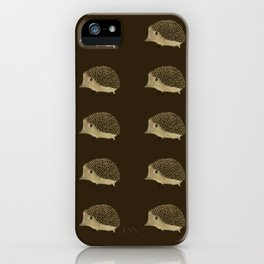 Betty The Hedgehog iPhone Case