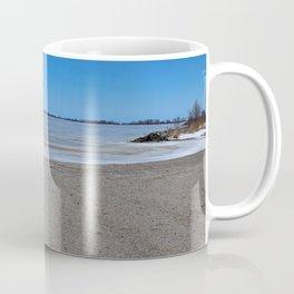 Maumee Bay in Winter II Coffee Mug