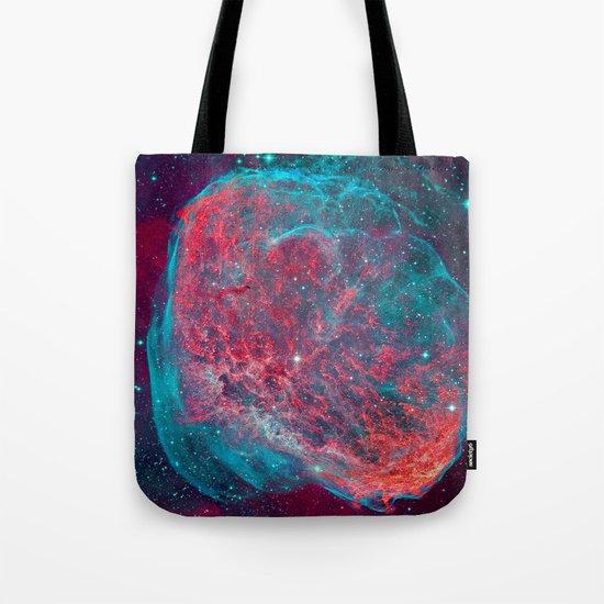 Crescent Nebula Tote Bag