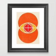 Vesica Piscis 2 Framed Art Print
