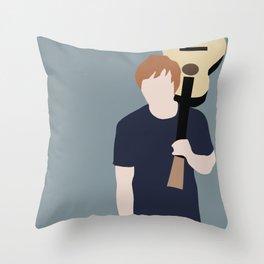Ed // Billboard Throw Pillow