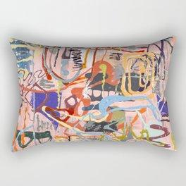 Shamanic Painting 02 Rectangular Pillow