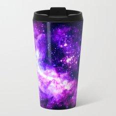 Purple Galaxy : Celestial Fireworks Travel Mug