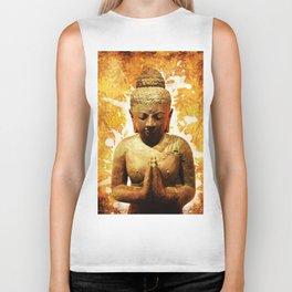 The Praying Buddha Biker Tank