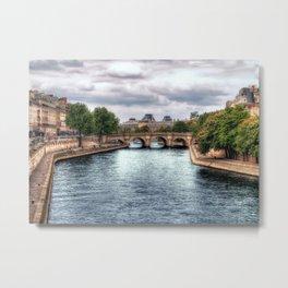 La Seine Metal Print
