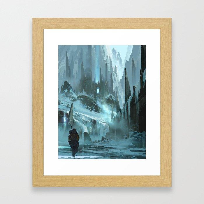 Hann Ze Framed Art Print