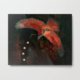 They Speak of What Comes Metal Print