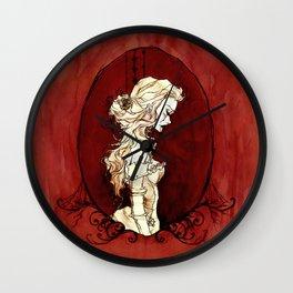 Lavinia Cameo Wall Clock