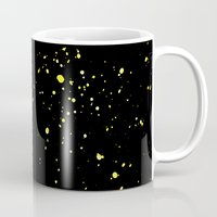 starry night Mugs featuring Starry night by haroulita
