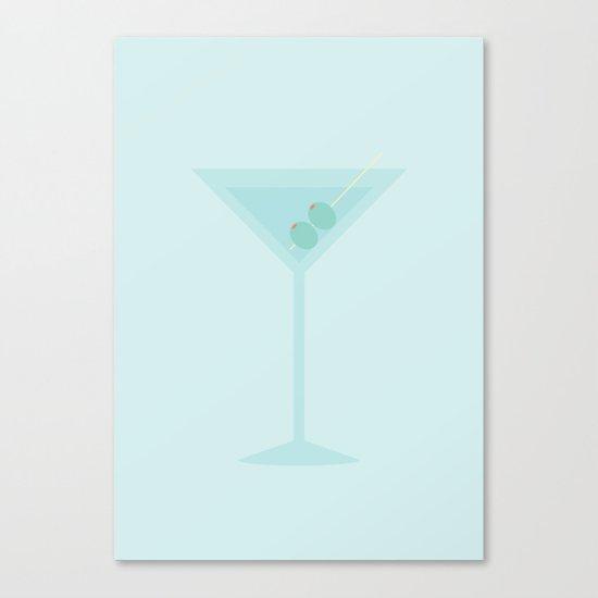 #47 Martini Canvas Print
