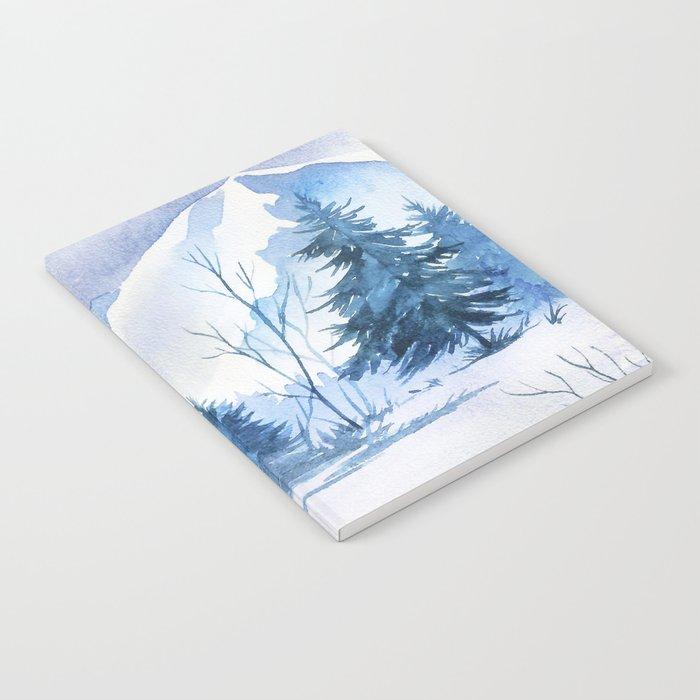 Winter scenery #2 Notebook