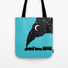 the night train Tote Bag