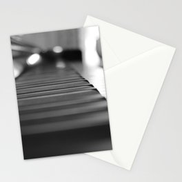 a piano Stationery Cards