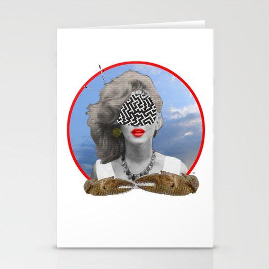 I had a dream, last night... Stationery Cards