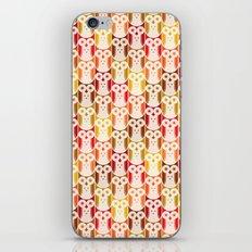 Owl Pattern iPhone Skin