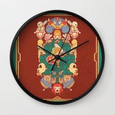 Past Legends Wall Clock
