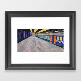 Nisja: the night train 1 Framed Art Print