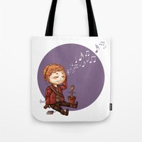 starlord Tote Bags featuring StarLord by MaliceZ