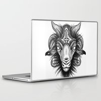 goat Laptop & iPad Skins featuring Goat by Alexander Kukinov