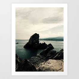 The Rock, Italy Art Print