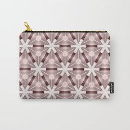 Sepia Mauve Starlights Carry-All Pouch