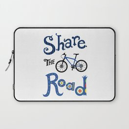 Share the Road Laptop Sleeve