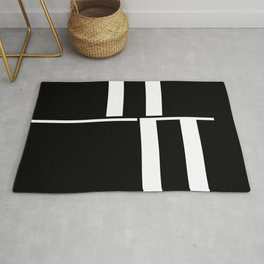 Anxiety Rectangles 1 #minimalism #abstract #geometry #society6 Rug