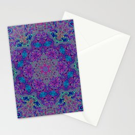 Oil Spill to Flower Stationery Cards