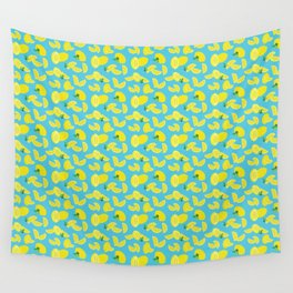 Lemoncello Teal Wall Tapestry