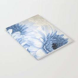 Blue Gerbera Notebook