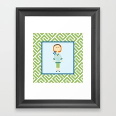 Spring Fever Framed Art Print