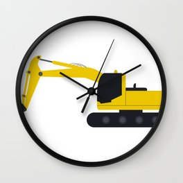 xcavator Wall Clock