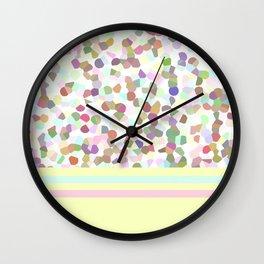 Lots of Dots Yellow Wall Clock