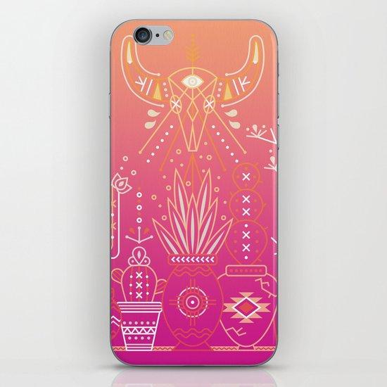 Santa Fe Garden – Pink Sunset iPhone Skin