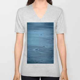 Hued blues of Prussia Cove, Cornwall Unisex V-Neck