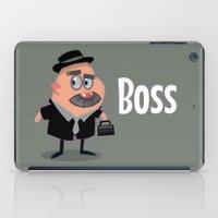 boss iPad Cases featuring Boss by Glenn Melenhorst