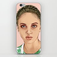 venus iPhone & iPod Skins featuring VENUS by Laura O'Connor