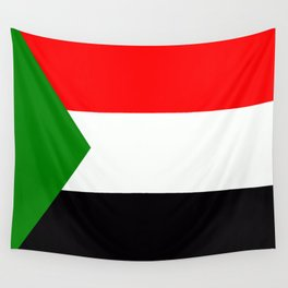 Flag of Sudan Wall Tapestry