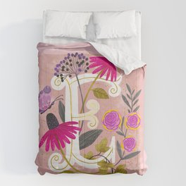 Artsy Alphabet: E Comforters