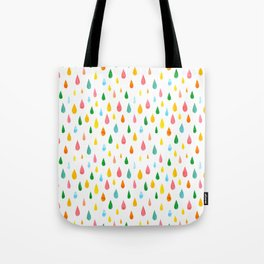 Happy Rain Tote Bag