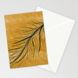 Fall feather Stationery Cards